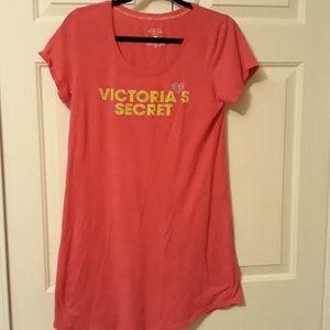 Victoria's Secret pink sleep shirt size medium PJ'